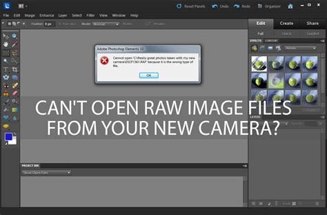 dramafire can t open can t open raw image files from your new camera