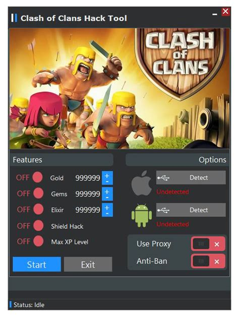 clash of clans hack tool apk clash of clans hack tool hack and cheats