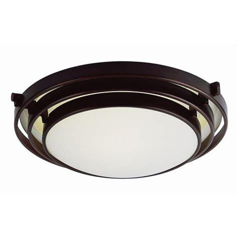 Bel Air Lighting Stewart 1 Light Rubbed Oil Bronze Cfl Cfl Ceiling Lights