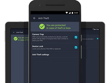 antivirus for android phone high performance protection anti theft app technary