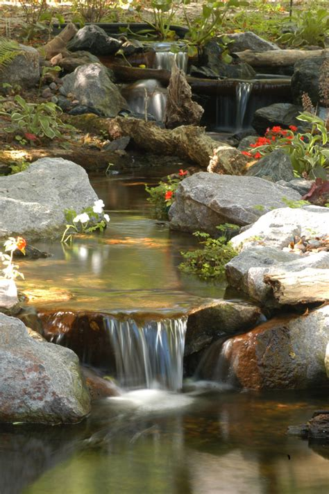 Backyard Waterfalls For Sale by Ponds And Pondless Water Features For Sale The Pond Doctor