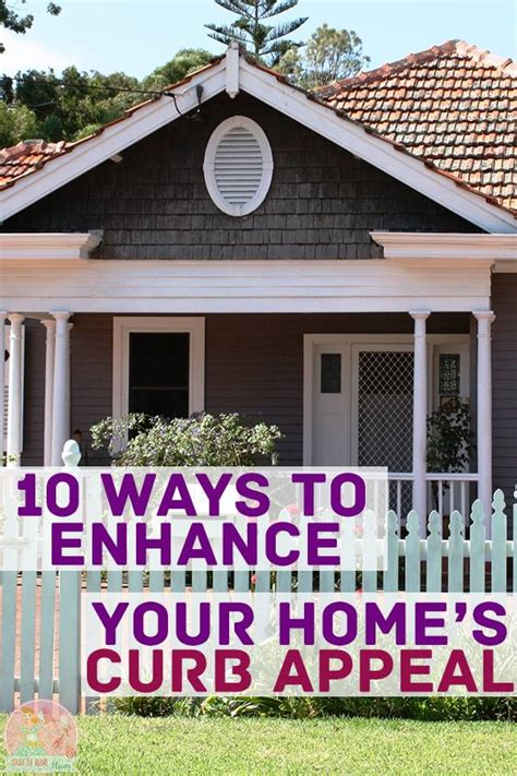 how to give your house curb appeal 10 ways to enhance your home s curb appeal stay at home
