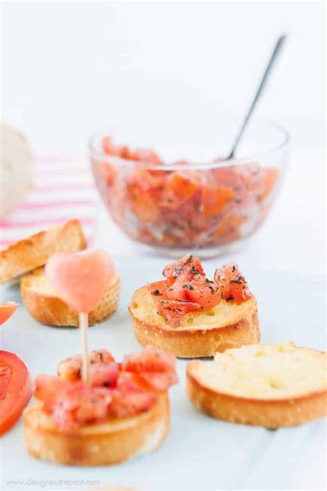 appetizers for valentines s day bruschetta bites