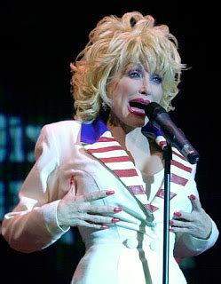 Dolly Parton Has Named Cans Shock Awe by Chatter Busy Does Dolly Parton Breast Implants