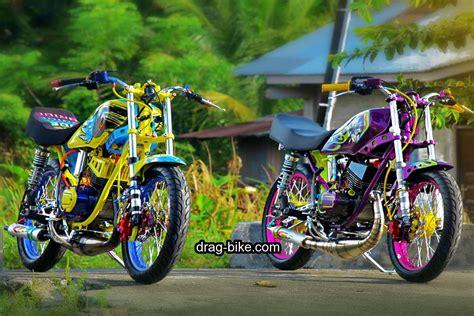 Modifikasi Rx King Drag Bike by 60 Foto Gambar Modifikasi Rx King Modif Keren Air Brush