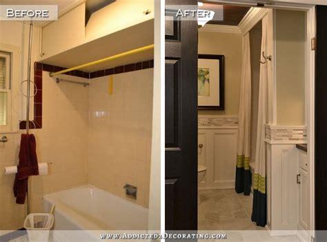 diy bathroom remodel before after diy bathroom remodel before after