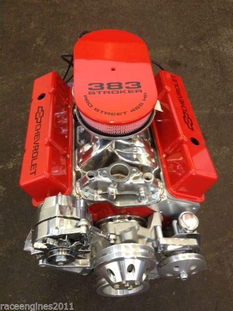 383 crate motor 383 stroker motor 400hp roller turn key pro chevy