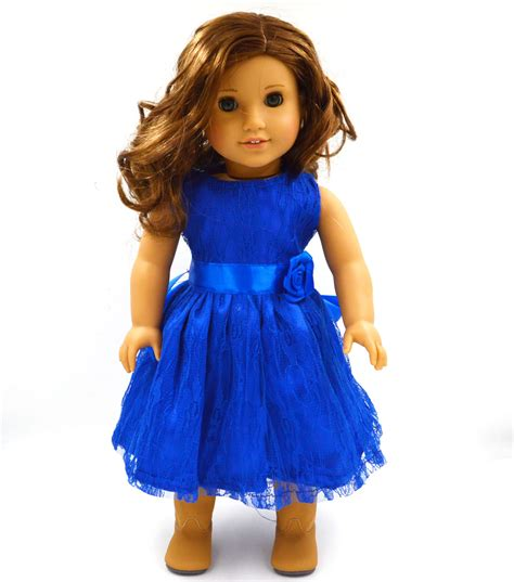 18 Inch Doll by Aliexpress Buy Handmade 15 Colors Princess Dress