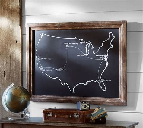 Pottery Barn Usa Chalkboard Usa Wall Pottery Barn