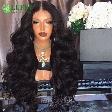 8A Best Peruvian Full Lace Wig Human Hair Deep Body Wave