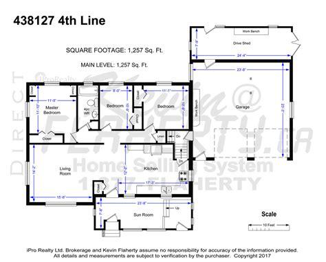 floorplan main line mini 438127 4th line melancthon real estate listing