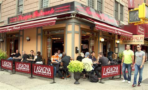 house restaurant chelsea lasagna ristorante new york city chelsea menu prices