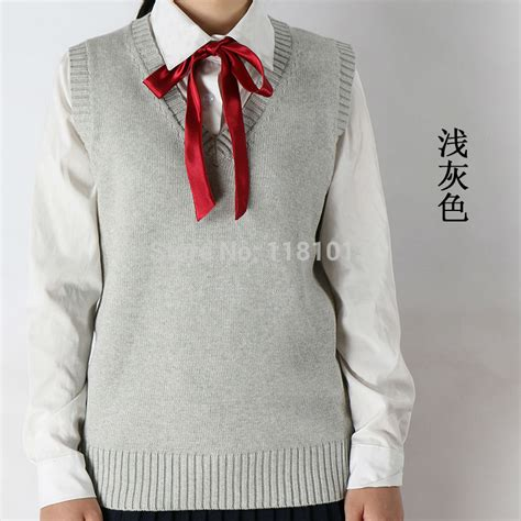 comfortable sweaters winter and autumn v neck hedging sleeveless vest sweater