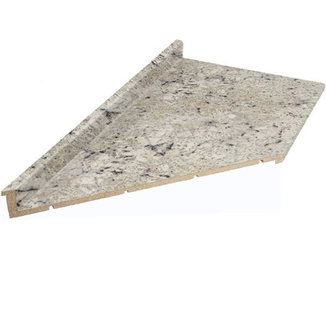Shop Vti Fine Laminate Countertops 12 Ft Ouro Romano Lowes Kitchen Countertops Laminate
