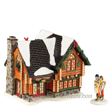 department 56 light set department 56 4023611 winter retreat holiday gift set of 2