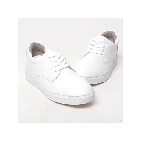 mens platform sneakers s white platform synthetic leather lace up sneakers