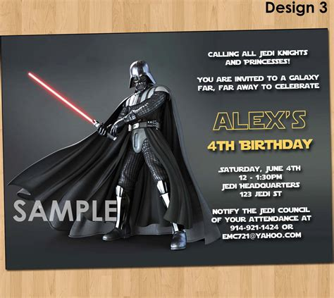 printable star wars invitations star wars invitation star wars party invitation star wars