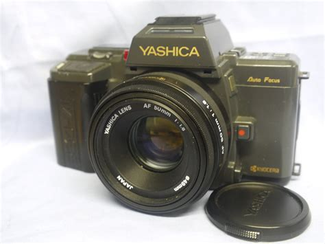 yashica slr yashica 230af slr 50mm autofocus lens 24 99