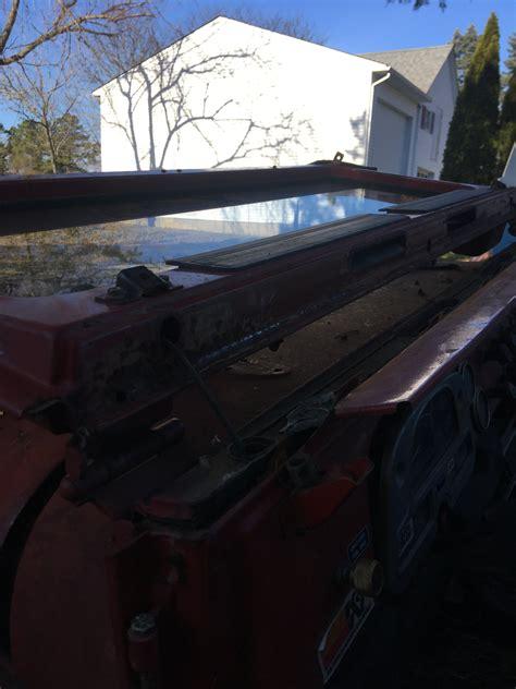 sale  fj windshield frame hinges  nice shape