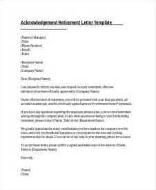 Acknowledgement Letter For Vacation 41 Acknowledgement Letter Exles Sles