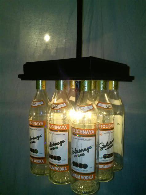 captain pool table light stoli bar light table chandelier liquor bottle desk