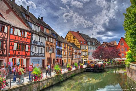 scenic town most beautiful town in france colmar in alsace