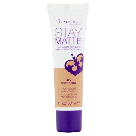 Rimmel Stay Matte Foundation rimmel stay matte liquid mousse foundation soft