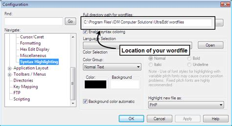 xml regex tutorial adding or removing file extensions for ultraedit syntax