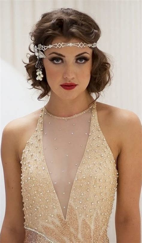great gatsby prom hair great gatsby hairstyles for short hair for 2016