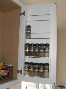Kitchen Cabinet Door Spice Rack Zero Footprint Spice Rack Joseph Fieber