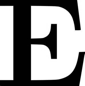 cyrillic letter e clip at clker vector clip