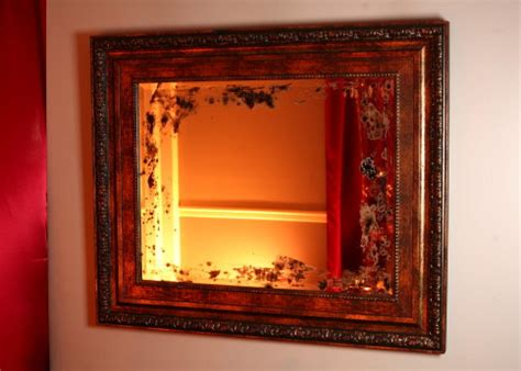 how to frame a mirror hgtv making a distressed mirror hgtv
