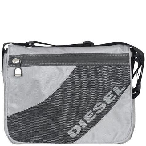Diesel Sillver diesel s favorite messenger bag silver free