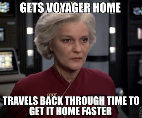 Star Trek Voyager Meme - j m tresaugue 11 reasons why captain janeway is the