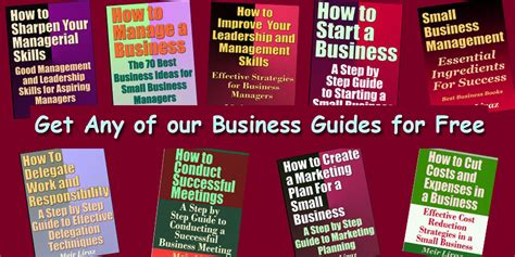 Mba Books Pdf by Free Small Business Guides Free A Business Books Pdf