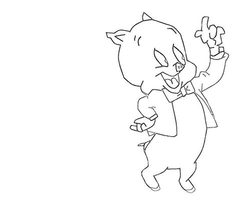 Porky Pig Coloring Pages Az Coloring Pages Porky Pig Coloring Pages