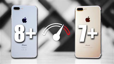 iPhone 7 Plus vs iPhone 8 Plus Speedtest Comparison   YouTube
