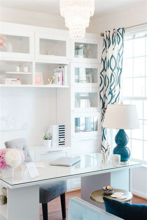 white home office 30 delightful feminine home office furniture ideas digsdigs
