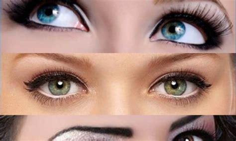 colore degli occhi diversi trucco borse correzione tutorial