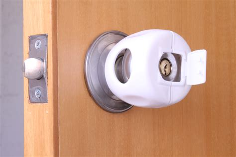 Locking Door Knob Covers by Baby Safety Lock Door Knob Cover Flickr Photo