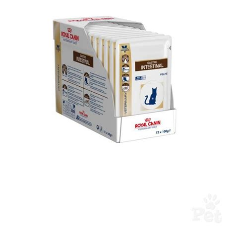 Royal Canin Gastrointestinal Cat 400gr Rc Gastro Intestinal 400gr royal canin feline gastro intestinal 12 x100g sachets