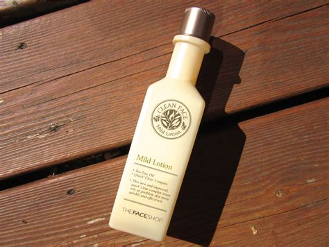 Harga The Shop Clean Mild Toner knots and ruffles the shop clean mild lotion