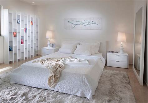 white fluffy bedroom rugs designs ideas white bedroom with larhe white fluffy rug white modern bed and white