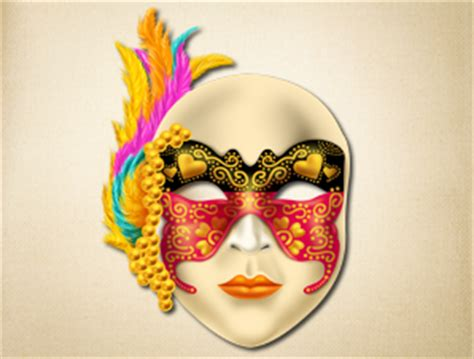 highly detailed colorful venetian mask the printable mask shop