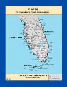 map southern florida maps southern florida weather zone boundaries