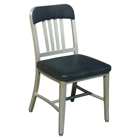 Side Chairs Dining 1 Vintage Emeco Aluminum Dining Side Chair Ebay