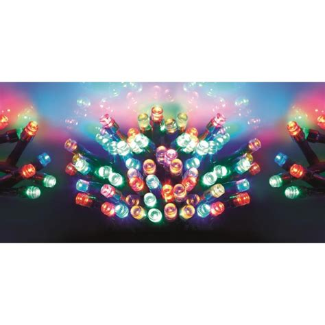 Premier Lb112383m 100 Outdoor Multi Action Multi Coloured Premier Led Lights