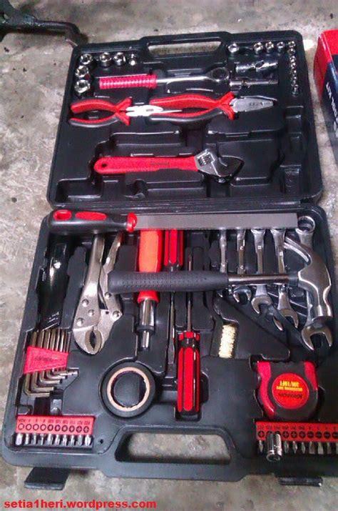membungkus hand tool kit set krisbow pcs setiahericom
