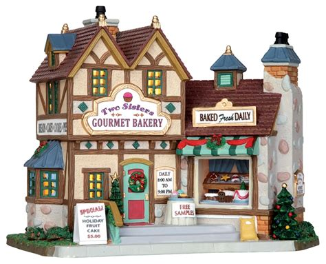 lemax two sisters gourmet bakery 25386 miniature