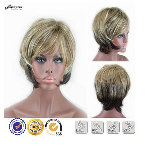 fake hair highlights for pixie cuts popular highlight wigs buy cheap highlight wigs lots from